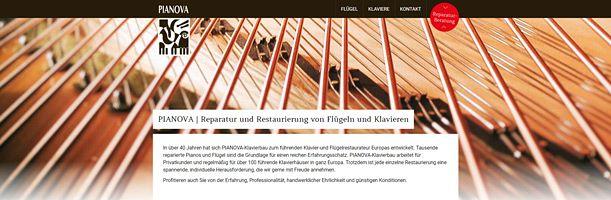 Startseitenbild der Pianova.de