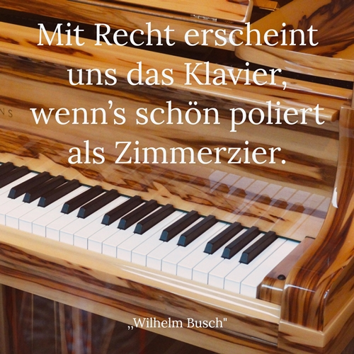 Sptuch von Wilhelm Busch